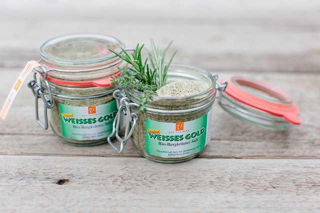 WEISSES GOLD® BIO BergKräutersalz 200g