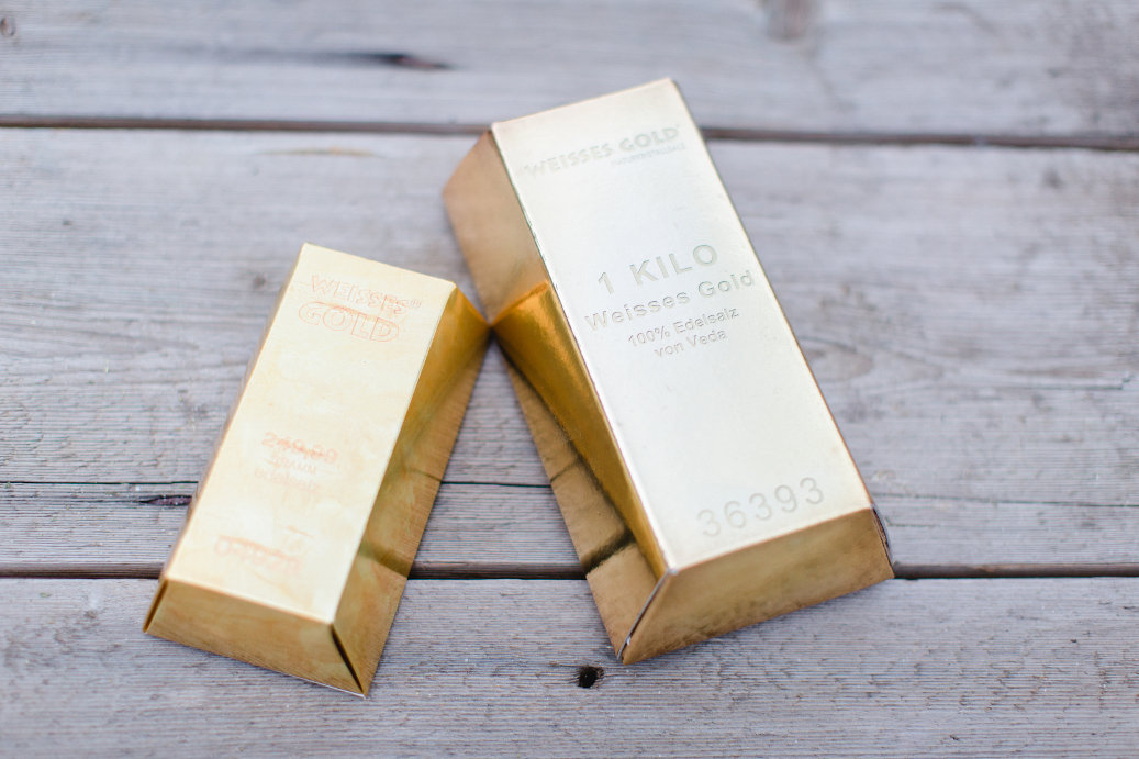 Goldbarren WEISSES GOLD® 500g